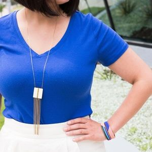 Noonday Collection Ivory Resin Artifact Necklace